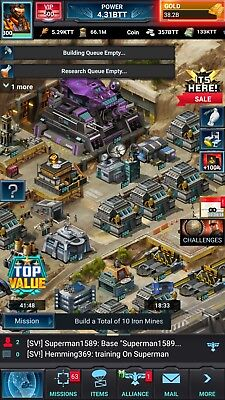 Mobile Strike Account