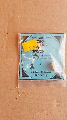 Unitah Railway Products Ho Micro Miniature Slide Switch