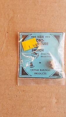 Unitah Railway Products Ho Micro Miniature Slide Switch