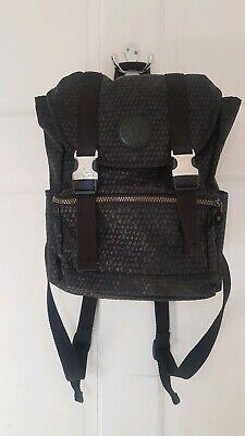 Kipling Experience S * Backpack * Rucksack * Black Scale Emb * Exc. Con