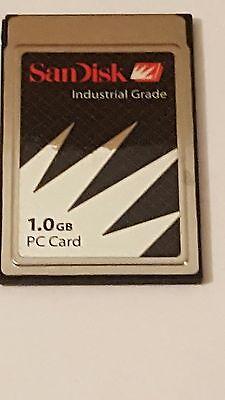 SANDISK INDUSTRIAL GRADE 1.0GB PC CARD PCMCIA PC CARD ATA