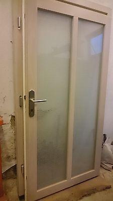 Eiche Glas Tür (Haustüre in Eichenholz mit Glas)