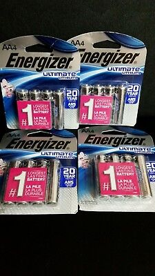 Energizer Ultimate Lithium Long Lasting AA Batteries, 16 pack, Exp 2036 for sale  Shipping to India