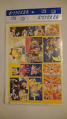 Sailor Moon Sticker (Bogen, 13 Sticker)