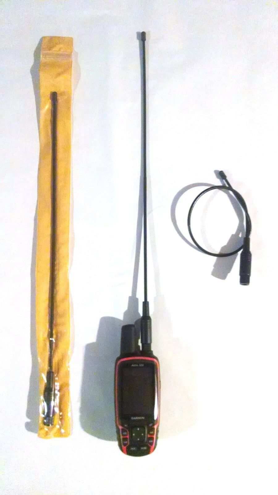 "5-20/"" Flexible Antenna for VHF Radios Long Range SMA Female Connector"