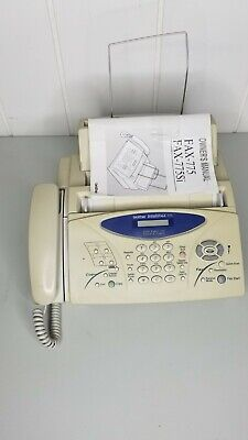 Brother Intellifax-775 Plain Paper Fax Phone Copier