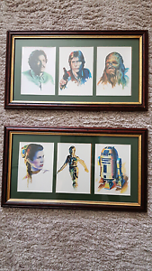 Star Wars Collectible Framed Pictures / Prints AS NEW! Albany Creek Brisbane North East Preview