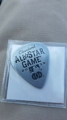 Cleveland Indians Rock (2019 MLB All Star Game Guitar Pick SGA 7/7/19 Cleveland Indians Rock And Roll )