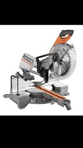 "Ridged 12"" sliding compound mitre saw"