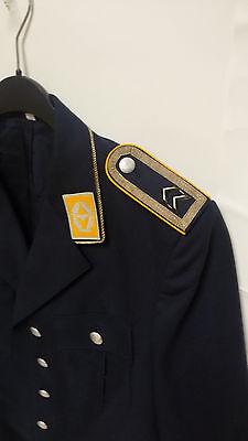 Bundeswehr Sakko Luftwaffe Gr.52 Dienst Jacke Anzug Uniform Kostüm Pilot Bw +9