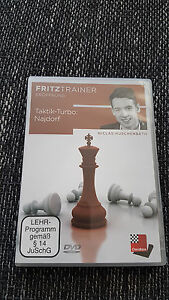 Taktik-Turbo: Najdorf - Fritztrainer - Chessbase DVD - Huschenbeth