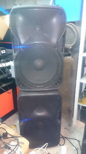 Pair Of Alto Active 800w TS115A Truesonic  DJ Speakers