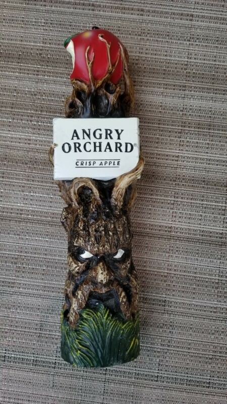"""Angry Orchard Crisp Apple 3D Tree Beer Draft Tap Handle 11"""""""