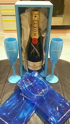 Moet & Chandon champagne gift set nice ideal gift home pub/bar/mancave