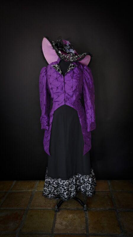 Victorian Dress Suit In Purple