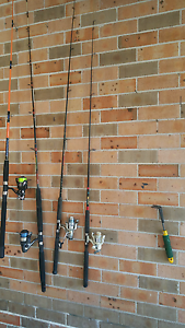 Fishing Rod Combo, Ugly Stick and good machine Bass Hill Bankstown Area Preview