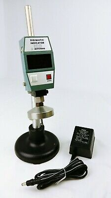 Mitutoyo Digimatic Indicator W Cast Iron Stand Id-1030e 1.2 30 Mm - Japan