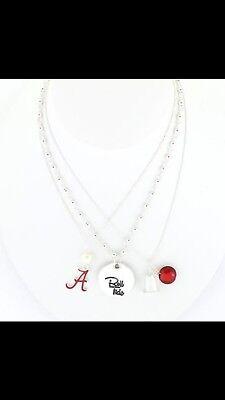 Roll Tide Pendant (New University of Alabama Crimson Tide Roll Tide