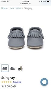 Minimocs shoes size 4