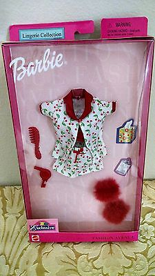 Barbie Lingerie Collection Styles Fashion Avenue and Accessories (2001) 50438