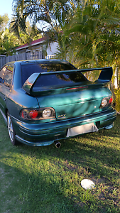 Subaru WRX GC8 1995- AWD 5 Speed Manual Helensvale Gold Coast North Preview
