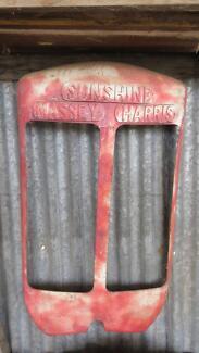 Sunshine Massey Harris Tractor Radiator Cover
