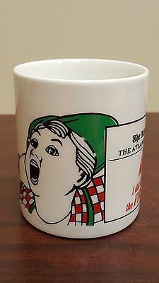 The Atlanta Journal Constitution Poreclain Coffee Mug Zero Misses B21