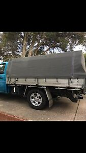 Canvas tray cover and roof rack to fit Mazda BT50 Harrison Gungahlin Area Preview