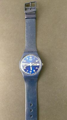 Swatch Watch Classic Just Blue GN715.