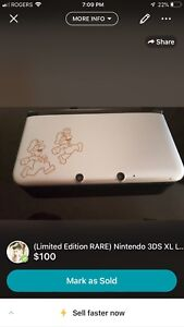 Nintendo 3DS Limited Edition Rare