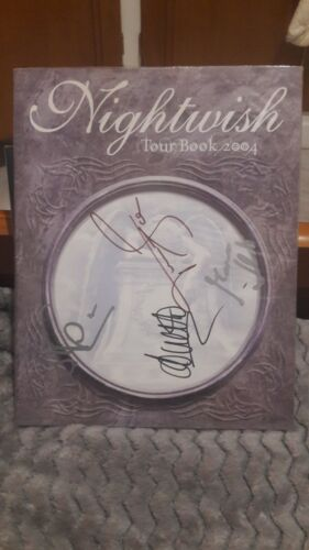 Nightwish Signed Once Tour Book RARE....