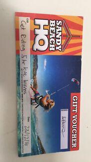 kite-surfing voucher