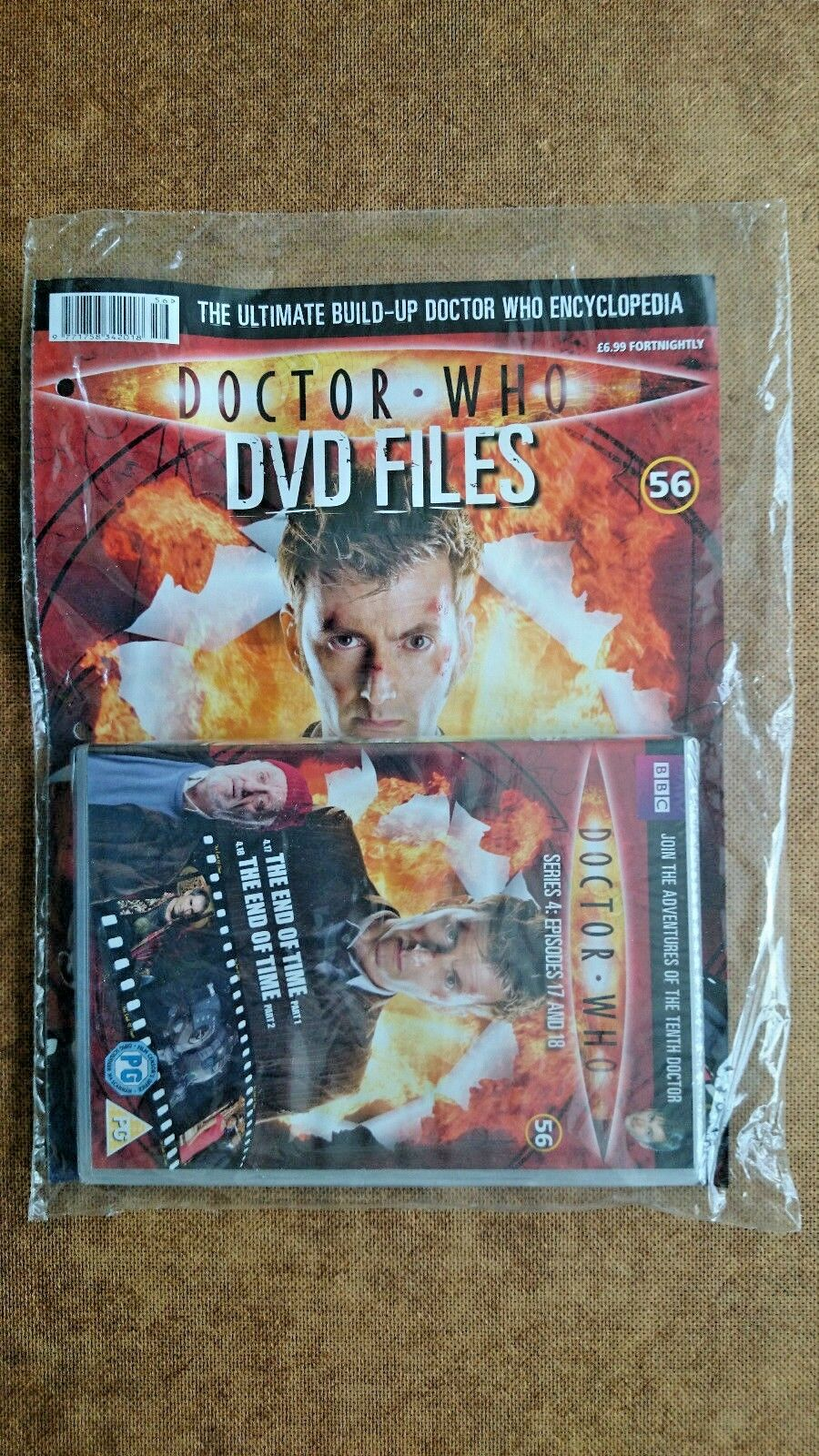 Doctor Who Series 4 Episodes 17 and 18  NEW and SEALED With Magazine
