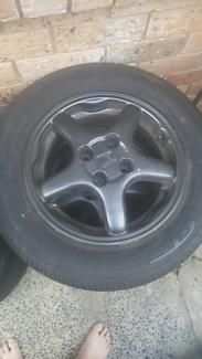 Honda Enkei CRX Del Sol wheels tyres rims 4x100