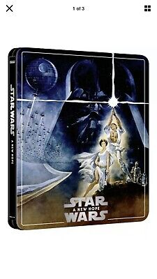 Star Wars: Ep IV – A New Hope - 4K UHD Blu Ray Steelbook 3 Disc Excl - Pre Order