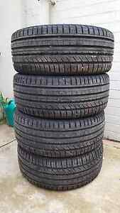 Near New Tyres For Sale 4x 235/45R17 Pennington Charles Sturt Area Preview