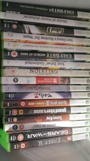 Xbox 360 + 4 controllers and 15 games Wembley Downs Stirling Area Preview