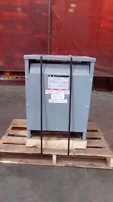 Square D 15 Kva Sorgel Transformer Cat 15t145hdit Hv 460 Lv 460y266 Lot 3