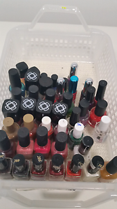 LOT OF 50 NAIL POLISHES , mostly brand new McLaren Flat Morphett Vale Area Preview