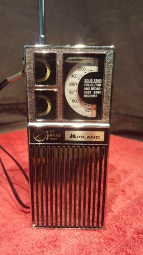 MIDLAND VHF / AM RECEIVER.  EXCELLENT CONDITION