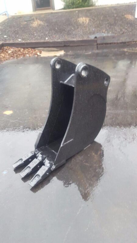 """New 12"""" Backhoe Bucket For A Caterpillar 416 D"""