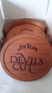 Jim Beam Devils Cut Coasters *New* Narre Warren Casey Area Preview