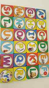 Alphabet A-Z learning books North Adelaide Adelaide City Preview