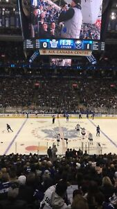 LEAFS/RANGERS Saturday: Centre Ice Reds Sec 108 - $700/pair