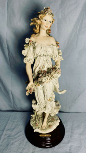 "1994 Giuseppe Armani Collectors Society ""Flora"" Sculpture Figurine No Box - Mint"