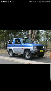 Daihatsu feroza convertible 4x4 Basin View Shoalhaven Area Preview