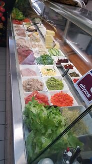 URGENT SELL. Sandwich and salad bar for sale north sydney North Sydney North Sydney Area Preview