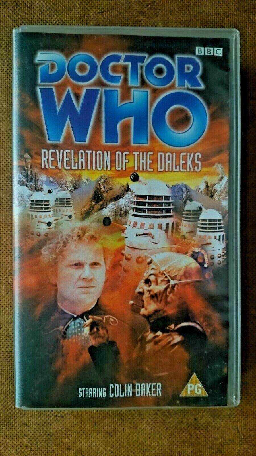 Doctor Who - Revelation Of The Daleks (VHS, 1999) - Colin Baker