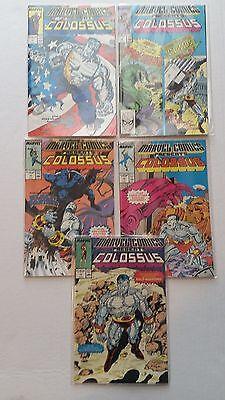 Marvel Comics Presents Colossus 1988 Comic Books #11-15