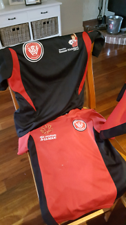 Wanted: Western Sydney Wanderers tops (3)